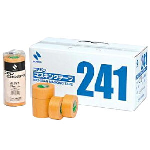 ニチバン マスキングテープNO.241 [40mm×18m] 1箱30巻入り 外装・内装・マスキング・養生・車両塗装・耐熱・模型