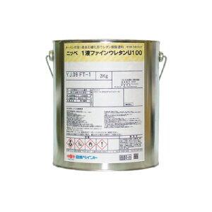 【弊社小分け商品】 ニッペ 1液ファインウレタンU100 ND-375 [3kg] 日本ペイント 中彩色 ND色