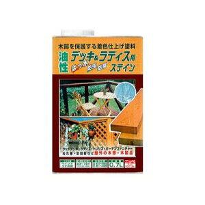ニッペ 油性デッキ&ラティス [1.6L] 日本ペイント・ニッペホーム・ラティス・ウッドデッキ・木部・木製品・油性