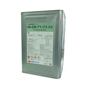【送料無料】 ニッペ Hi-CRデラックスエコ 白(ND-101) つや有り [16kg] 日本ペイント