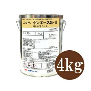 ニッペ ケンエースG-2 つや消し エコロエロー [4kg] 日本ペイント