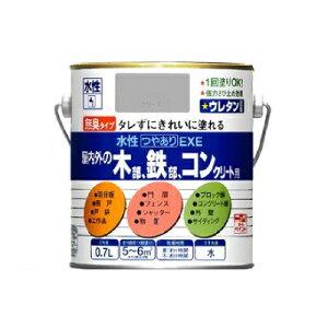 ニッペ 水性つやありEXE [0.2L] 日本ペイント・ニッペホーム・鉄部・木部・コンクリート・屋内外・アクリルエマルジョンペイント