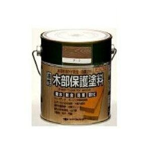 ニッペホーム 油性木部保護塗料 [3L] ニッペホームプロダクツ・合成樹脂調合ペイント・屋外・木製品・防虫・防腐・防かび・ウッドデッキ・ログハウス・着色透明仕上げ・油性塗料