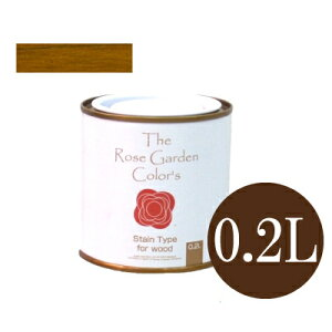 The Rose Garden CoLor's ローズガーデンカラーズ 06シェヌ [0.2L] ニッペホーム 水性塗料 ガーデニング用塗料 木部用保護塗料 半透明着色 防虫効果 防腐効果 防かび効果