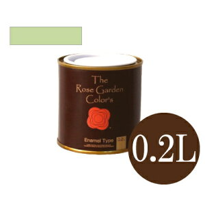 The Rose Garden CoLor's ローズガーデンカラーズ 082カンパーニュ [0.2L] ニッペホーム 水性塗料 ガーデニング用塗料 シルク調微光沢 木部用 鉄部用 耐水性 耐候性