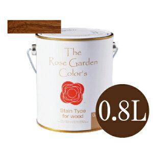 ●The Rose Garden CoLor's ローズガーデンカラーズ 08テック [0.8L] ニッペホーム・水性塗料・ペンキ・木部用