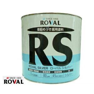 ローバル株式会社 ローバルシルバー [3.5kg] シルバージンクリッチ・上塗り・アルミ・さび止め