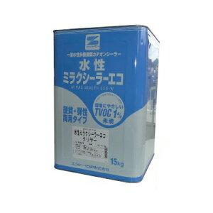 エスケー 水性ミラクシーラーエコ [15kg] エスケー化研・SK化研・一液水性多機能型カチオンシーラー