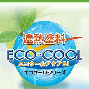 【送料無料】 水性シリコン樹脂系遮熱塗料 エコクールアクアSi ECOアカデミーブルー ECOフォレストグリーン [15kg] 大日本塗料