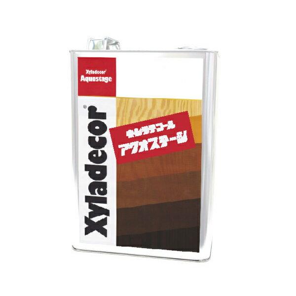 [R] キシラデコール アクオステージ 402 ピニー [3.5kg] XyLadecor 水性 屋外木部用 木材保護塗料