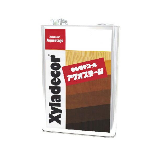 [R] キシラデコール アクオステージ 405 カスタニ [3.5kg] XyLadecor 水性 屋外木部用 木材保護塗料
