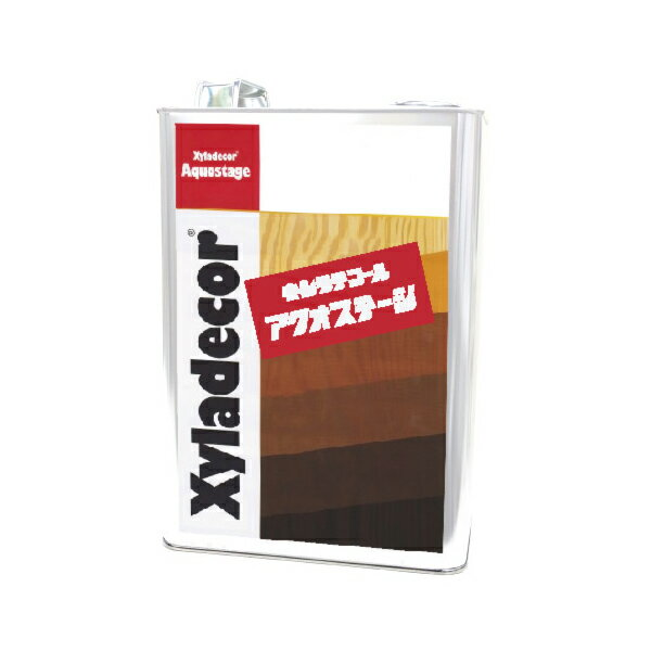[R] キシラデコール アクオステージ 408 パリサンダ [3.5kg] XyLadecor 水性 屋外木部用 木材保護塗料