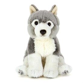 オオカミ 子供 動物 ぬいぐるみ リアルアニマルファミリー