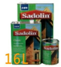 【送料無料】サドリン クラシック 【16L】 WO各色 油性木部保護着色塗料 木部用塗料玄々化学シロアリ等の害虫から保護