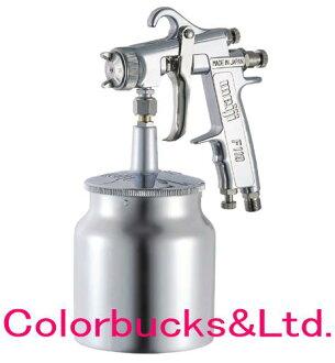 明治meiji F110系列小型喷枪吸力式高微粒化郁金香模式吸力式茶杯是分售。 F100系列在新型是换代