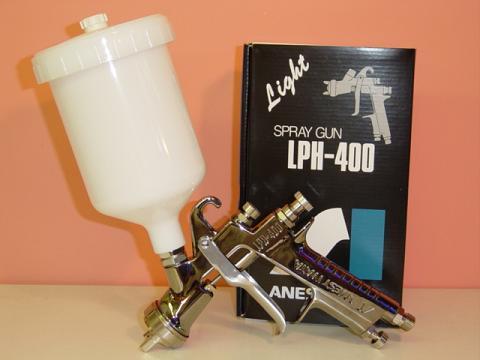 【LPH-400-144LV】【在庫商品】ANEST IWATA アネスト岩田LPH-400シリーズ低圧センターカップエアースプレーガン■カップ別売(PCG-6P-Mをご利用下さい)アネスト岩田キャンベル CAMPBELL エアスプレーガン