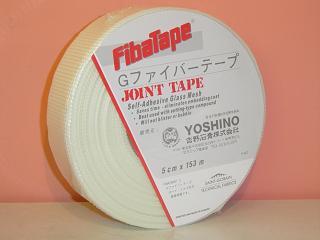 タイガーグラスファイバーテープのり付き目地用テープ35mm×90M×0.2厚