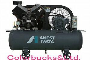 【TFP15CF-10 M5/M6】(旧TFP15C-10M)ANEST IWATA アネスト岩田最新エアーコンプレッサー TFP-15-CF-10 M5/M6 COMGシリーズ タンクマウントタイプオイルフリー 三相200V仕様 2馬力エアースプレーガンに