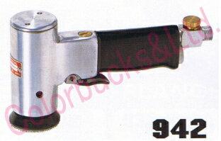 コンパクトツール942ミニダブルアクション・サンダー45パイマジック式パッド・非吸塵タイプ