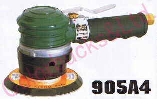 【送料無料】コンパクトツール905A4ダブルアクション・サンダー123パイマジック/のり式パッド・非吸塵タイプ