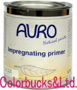 【NR-121】【油性プライマー】AURO アウロ《自然塗料》油性プライマー 【NP-121】【0.75L】内容量:750ミリリットル木部塗装の下塗り用本当に安全な木材用保護自然塗料プラネットカラーをお使