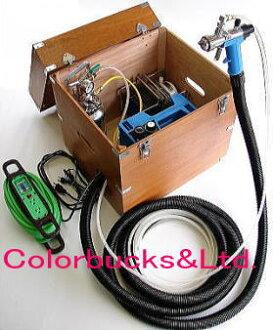 チロン 코팅 기 SG-91 사양 ABAC 더운 저압 페인트 기계 AC100V (50, 60Hz 공용) エムオースプレイング 주식 회사 (구: チロン 재팬 주식회사)