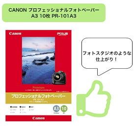 CANON プロフェッショナルフォトペーパー A3 10枚 PR-101A3