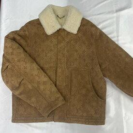 Louis Vuitton ボアジャケット モノグラム