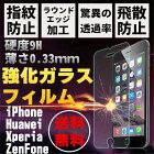 アイフォン6S/6プラス強化ガラスフィルムxperiaz3/z4/z5compact/z5premiumgalaxys5/s6ガラスフィルム