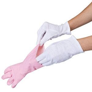 薄型インナーコットン手袋8枚入 アンダー手袋 乾燥対策 ガーデニング ( 手袋 薄型手袋 白手袋 左右両用 左右兼用 綿100% コットン 綿手袋 コットン手袋 インナー手袋 作業用 ハンドケア 保