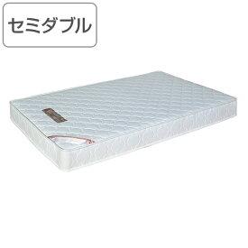 マットレス セミダブル ポケットコイル ベッドマットレス ( 送料無料 マット ベッド ベッドマット 持ち運び 硬め かため ポケット コイル セミダブルベッド ベッド用品 ホワイト 白 色 )【4500円以上送料無料】