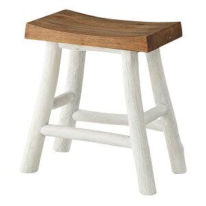 スツール 高さ46cm 木製 天然木 椅子 チェア 腰掛 ( 送料無料 イス いす 腰掛け 木製チェア おしゃれ チェアー 北欧 キッチン 玄関 リビング 飾り棚 踏み台 四角 )【3980円以上送料無料】