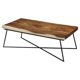 センターテーブル 天然木 ナチュラル 幅120cm ( 送料無料 リビングテーブル ローテーブル 無垢材 無垢 木製 モンキーポッド おしゃれ 木目 木 長方形 テーブル 机 )【4500円以上送料無料】