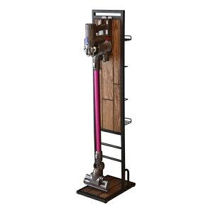 クリーナースタンド スティッククリーナー用 アイアンフレーム GRANT ( 送料無料 掃除機 スタンド 収納 掃除機スタンド 掃除機立て 掃除機置き 台 収納スタンド コードレスクリーナー ツー
