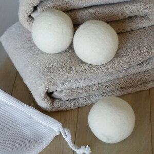 洗濯ボール ドライヤーボール 洗濯 速乾 乾燥 ( ウールドライヤーボール 乾燥機 ドラム式乾燥機 3個 コインランドリー 時短 ウール ドライ 乾燥ボール ドライヤー ボール ふんわり 仕上がり
