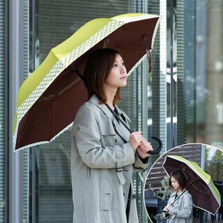 傘晴雨兼用circusサーカス逆さに開く2重傘長傘逆さ傘