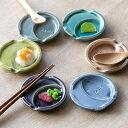 箸置き 小皿 付き おしゃれ くすみカラー はしおき 陶器 食器 日本製 ( カトラリーレスト 皿 食洗機対応 箸置 薬味 …