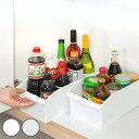 キッチン収納ケース ストックボックス コロ付き 幅19.1cm ( 収納ボックス 整理ケース シンク下ボックス シンク下収納…