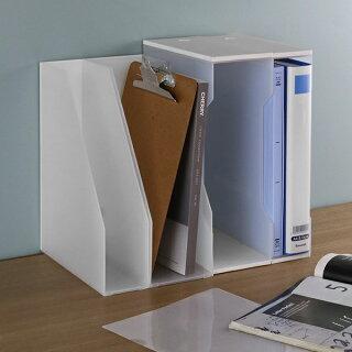 ファイルケース約11×奥行34×高さ25cmステイトボックス型ワイド横型