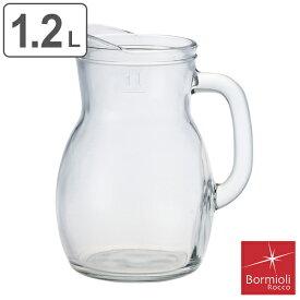 ボルミオリ・ロッコ Bormioli Rocco BISTROT JUG ビストロジャグ 1200ml ピッチャー ( ガラス ジャグ 水差し ポット ガラス食器 ガラスポット 食器 容器 )【3980円以上送料無料】