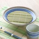 竹す 17cm つむぎ 竹すだれ 竹すのこ そば皿 和食器 竹 日本製 ( ざるそば すのこ 丸 蕎麦 ざる せいろ 竹簀 そば う…