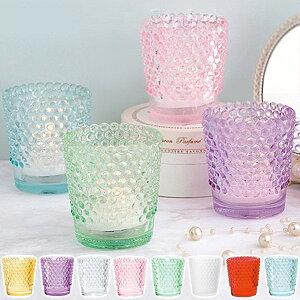 キャンドルホルダー キャンドルグラス ガラス製 ホビネルグラス ( キャンドルスタンド ろうそく立て アロマ 香り キャンドル ルームフレグランス 癒し リラックス ) 【3980円以上送