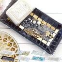 アクセサリートレイ ルミエール ブリエ レクタングルトレイ ( 小物 収納 アクセサリー モザイクガラス ガラス 雑…