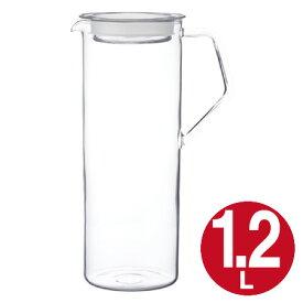 キントー KINTO 冷水筒 CAST ウォータージャグ 1.2L ( ピッチャー 冷水ポット 水差し ガラス製 耐熱 ) 【4500円以上送料無料】