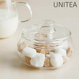 キントー KINTO シュガーポット UNITEA ユニティ ( 砂糖 シュガー ポット ガラス ミルク入れ コーヒー 紅茶 耐熱ガラス )【4500円以上送料無料】
