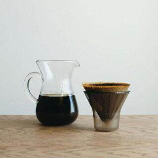 コーヒーメーカーSLOWCOFFEESTYLEカラフェセットプラスチックフィルター600ml