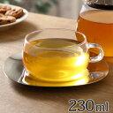 キントー KINTO カップ&ソーサー ティーカップ UNITEA ユニティ 230ml ガラス製 ステンレスソーサー付 ( カップ コ…