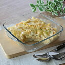 キントー KINTO グラタン皿 大皿 スクエア 25cm Bulkitchen 耐熱ガラス オーブンウェア ディッシュ 皿 食器 ( 耐熱…