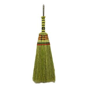 ほうき 座敷ほうき 手編み 短柄 屋内 ( 箒 ホウキ ほうき草 そうじ せいそう 掃き掃除 絨毯 じゅうたん 畳 コンパクト カーペット ダストパン ラグ マット 和室 たたみ 室内 ゴミ ごみ ホコリ