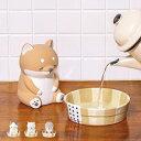 加湿器 気化式 卓上 ねむねむアニマルズ 銭湯 ( 気化式加湿器 陶器 加湿 オフィス 小型 自然気化 卓上加湿器 電源不…